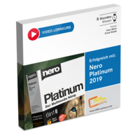 Video-Lernkurs Nero Platinum 2019 Suite